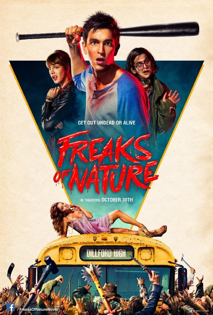 洗碗槽 Freaks.Of.Nature.2015.1080p.BluRay.H264.AAC-RARBG 简繁字幕 1.80G