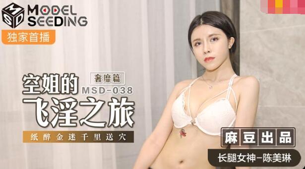 2021-10-26 MDS-038空姐的飞淫之旅-陈美琳